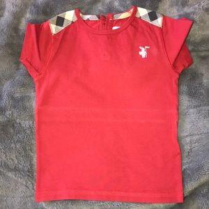Burberry kids t-shirt